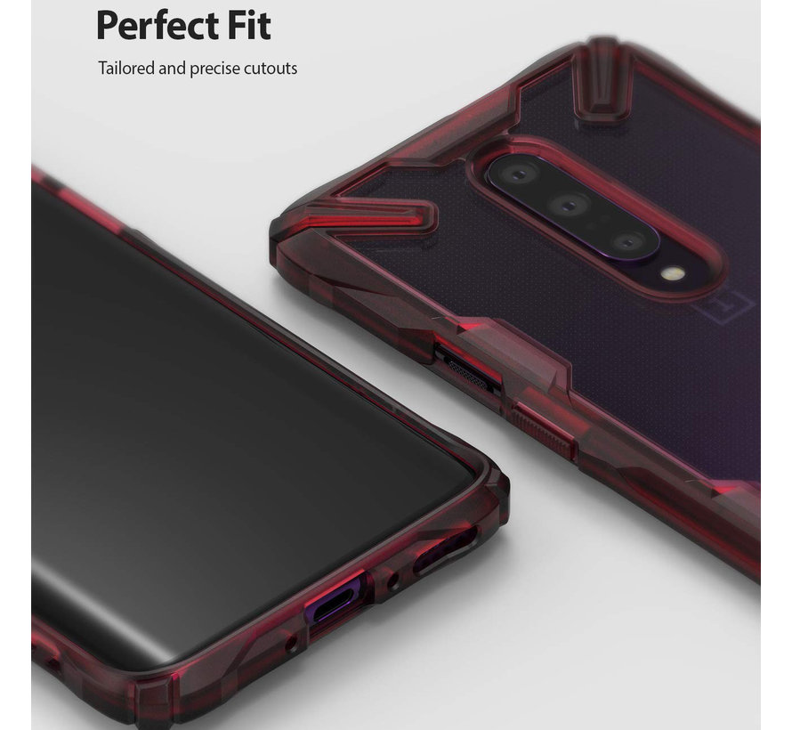 OnePlus 7 Pro Case Fusion X Rot
