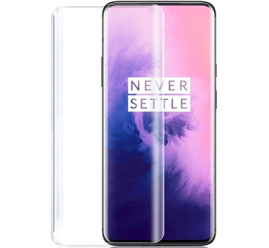 OnePlus 7 Pro / 7T Pro 9H Glazen Screen Protector Full Cover