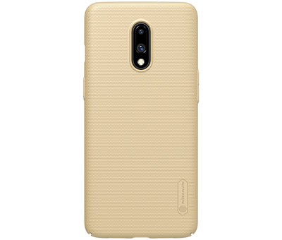 Nillkin OnePlus 7 Frosted Shield Gold Gehäuse