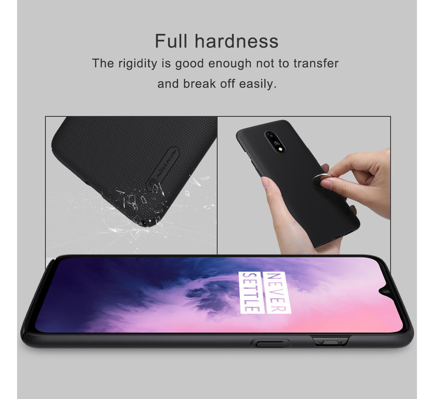 OnePlus 7 Frosted Shield Red Hülle