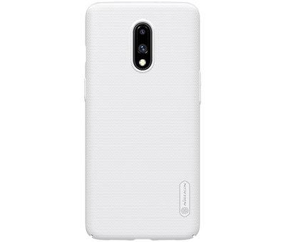 Nillkin OnePlus 7 Hoesje Frosted Shield Wit