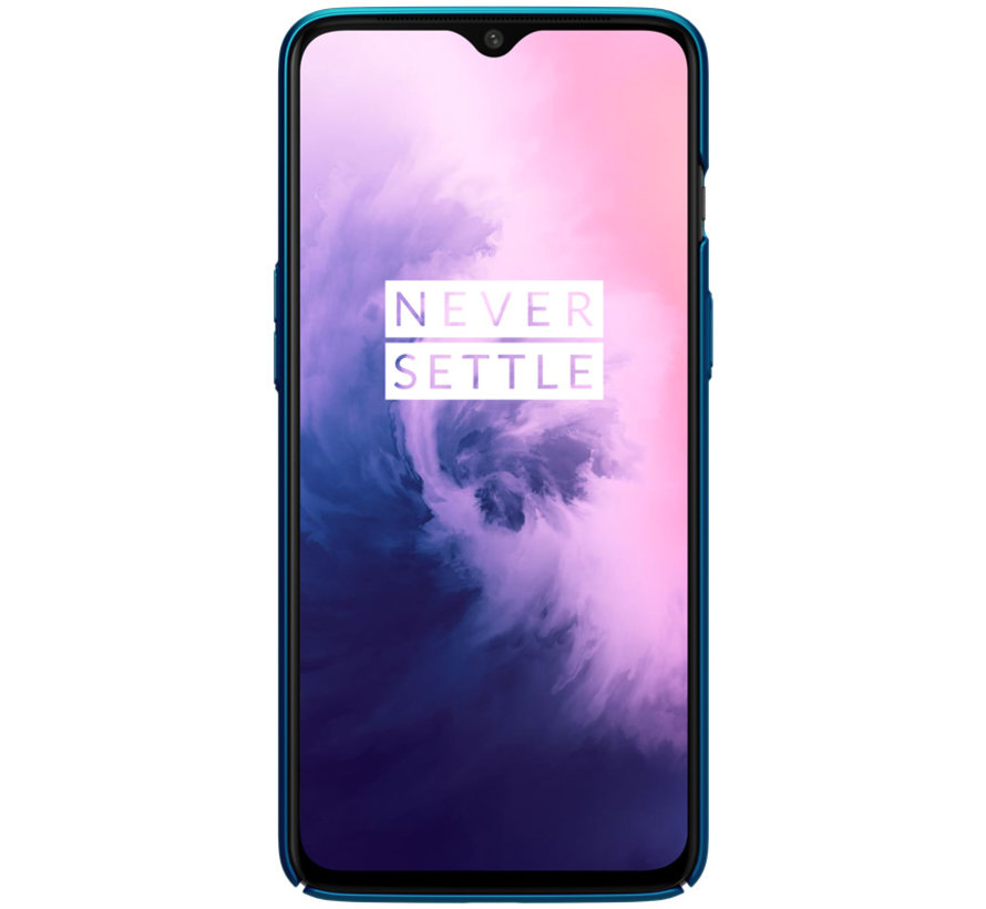 OnePlus 7 Frosted Shield Blue Hülle