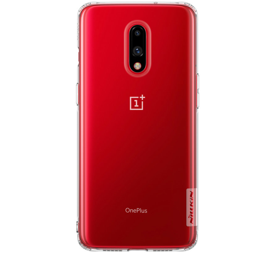OnePlus 7 Hoesje TPU Nature Transparant