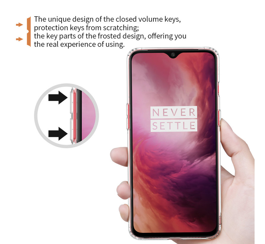 OnePlus 7 TPU Nature Transparent Hülle