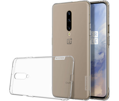 Nillkin OnePlus 7 Pro Case TPU Nature Transparent Gray