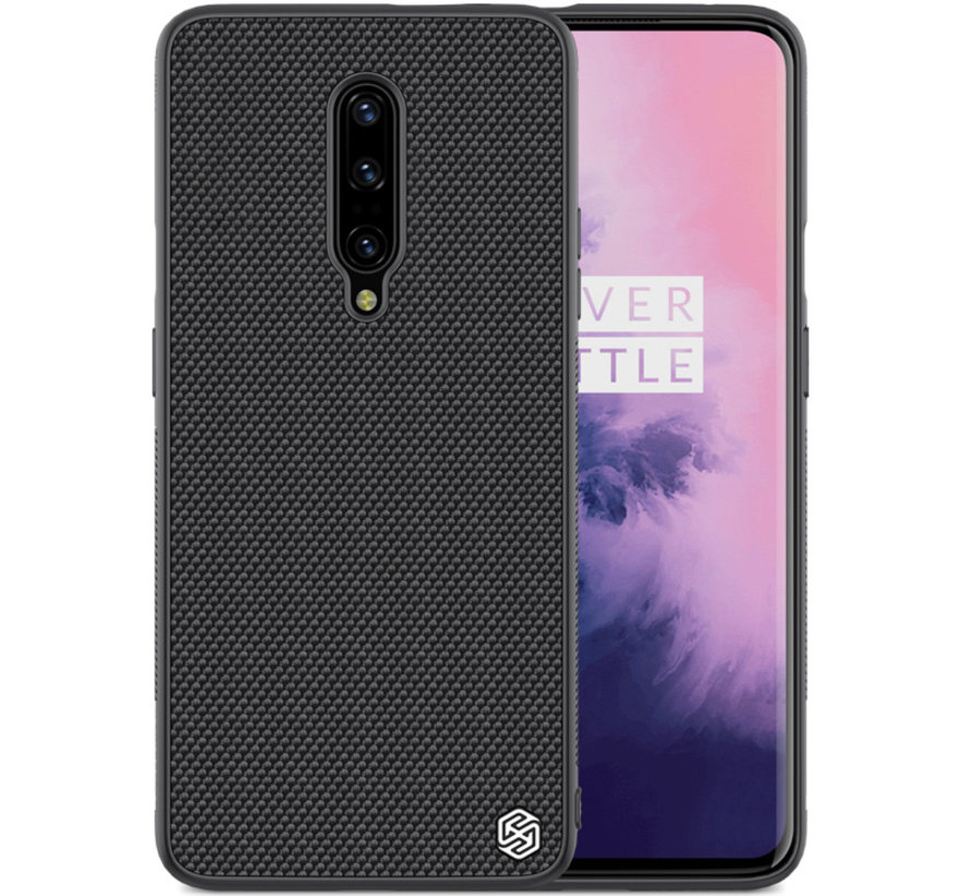 nillkin oneplus 7 pro case nylon black oneplus. Black Bedroom Furniture Sets. Home Design Ideas