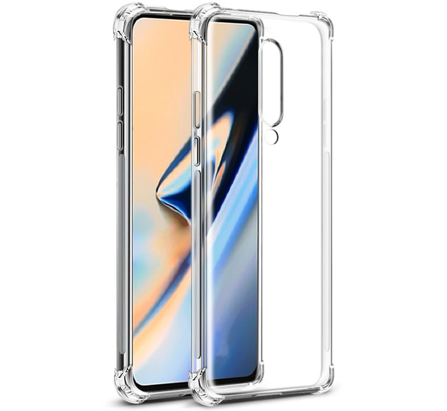 OnePlus 7 Hoesje TPU Shock Proof Transparant