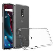 OPPRO OnePlus 7 Hoesje Bumper TPU Transparant