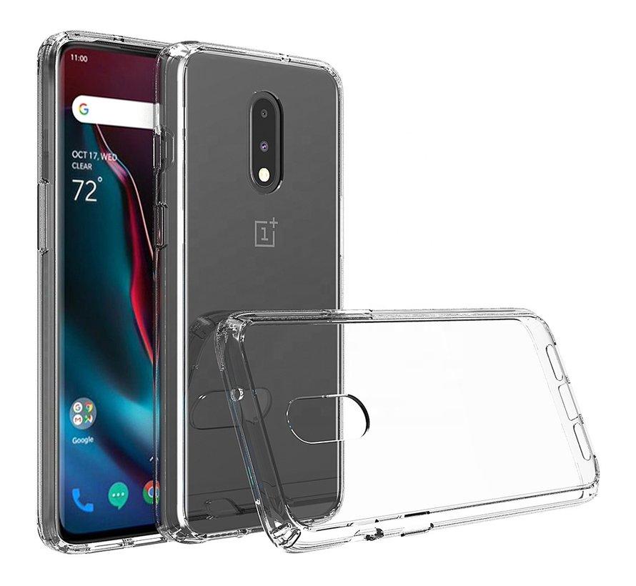 OnePlus 7 Hoesje Bumper TPU Transparant
