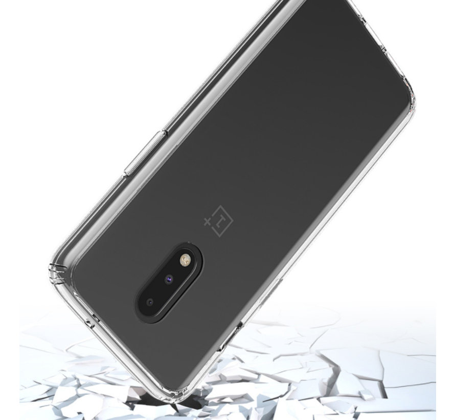 OnePlus 7 TPU transparente Stoßstangenhülle