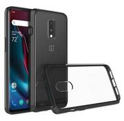 OPPRO OnePlus 7 Hoesje Bumper TPU Zwart