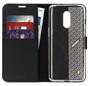 Accezz OnePlus 7 Wallet Case Schwarz