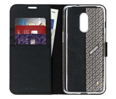 Accezz OnePlus 7 Wallet Hoesje Zwart
