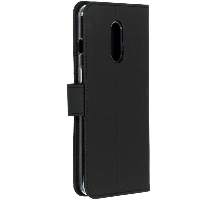 OnePlus 7 Wallet Hoesje Zwart