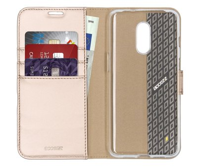 Accezz OnePlus 7 Wallet Case Gold