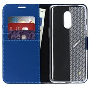 Accezz OnePlus 7 Wallet Case Blue
