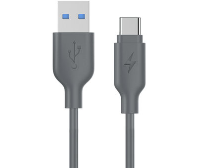 Multiline USB 3.1 Type C Cable 1M Gray