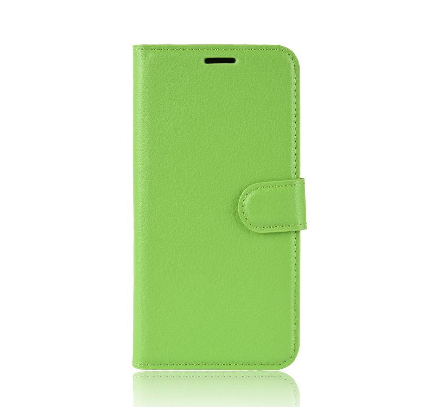 OnePlus 7 Wallet Flip Case Grün