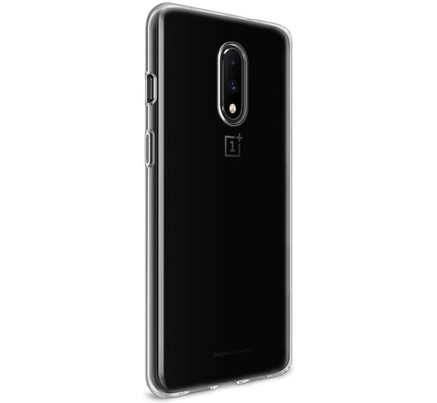 OnePlus 7 TPU Hoesje Transparant