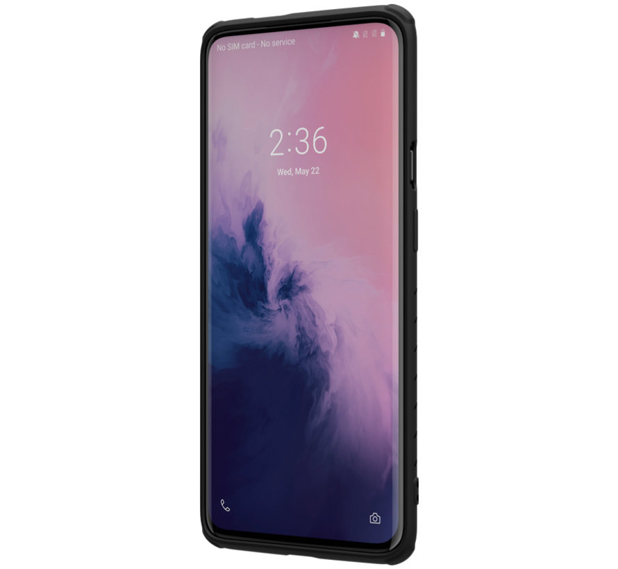 OnePlus 7 Pro Rubber Wrapped Black Case