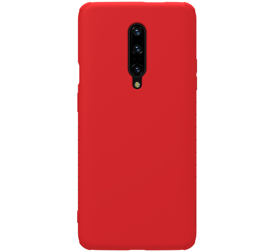 OnePlus 7 Pro Rubber Wrapped Red Case