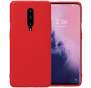Nillkin OnePlus 7 Pro Case Rubber Wrapped Red