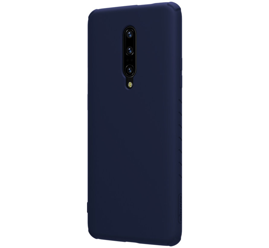 OnePlus 7 Pro Case Rubber Wrapped Blue