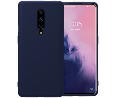 Nillkin OnePlus 7 Pro Case Rubber Wrapped Blue