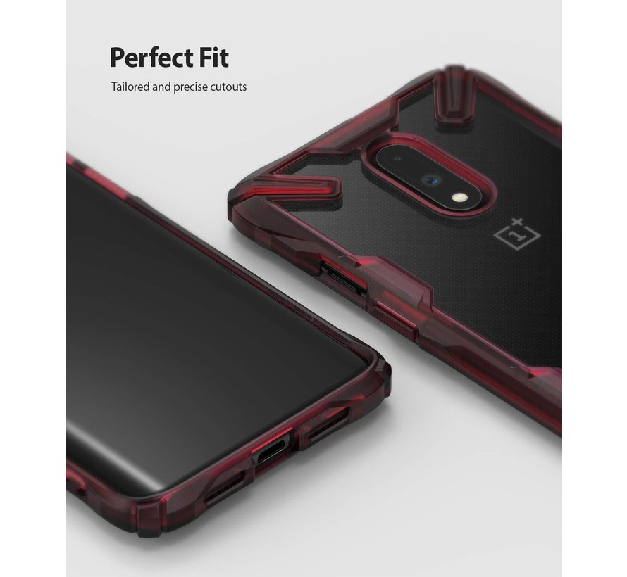 OnePlus 7 Fusion X Red Case