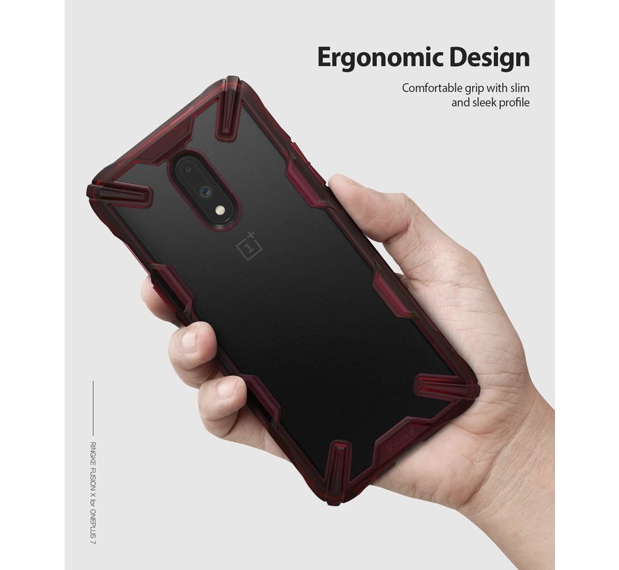 OnePlus 7 Fusion X Red Hülle