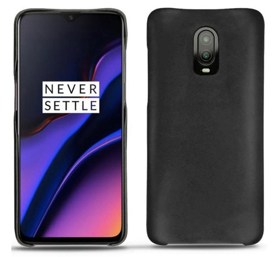 OnePlus 6T / 7 Case Genuine Leather Black