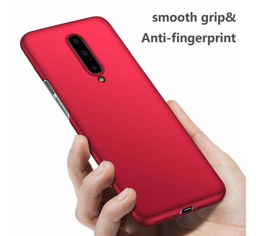 OnePlus 7 Pro Hülle Ultra Slim Grip Red