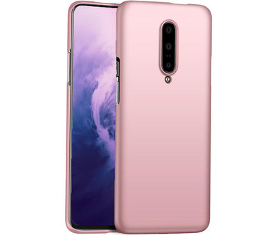 OPPRO OnePlus 7 Pro Case Ultra Slim Grip Rose Gold
