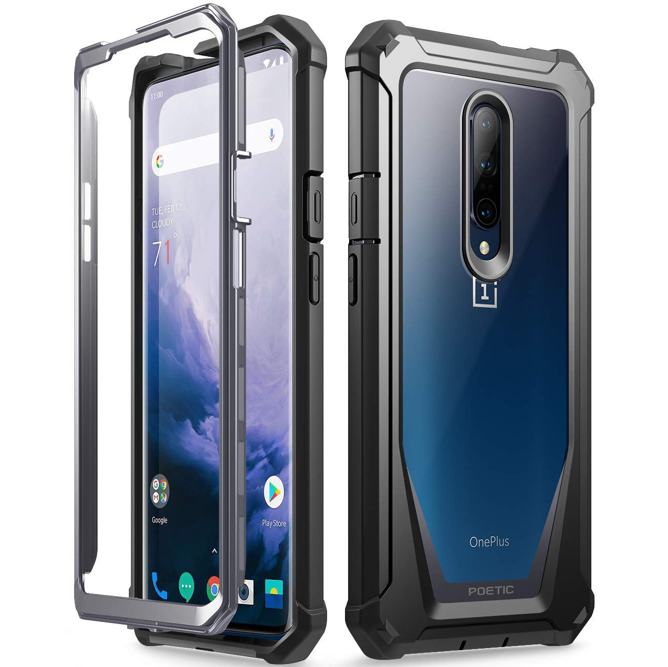 low priced 5a37a e6233 Poetic OnePlus 7 Pro Case Guardian | OnePlus-Shop.nl