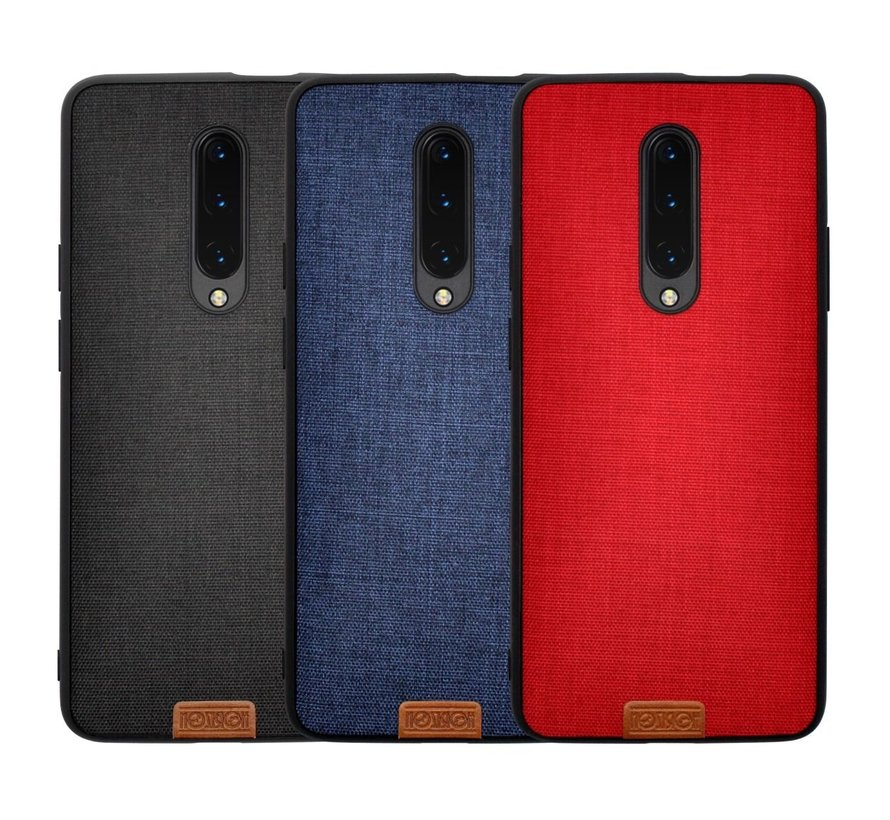 OnePlus 7 Pro Case Fabric Red