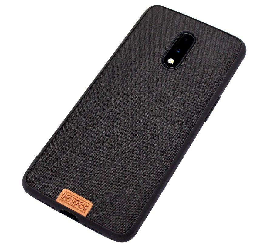 OnePlus 7 Fabric Black Hülle