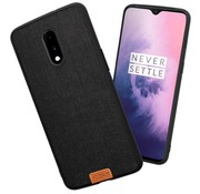 Noziroh OnePlus 7 Fabric Black case