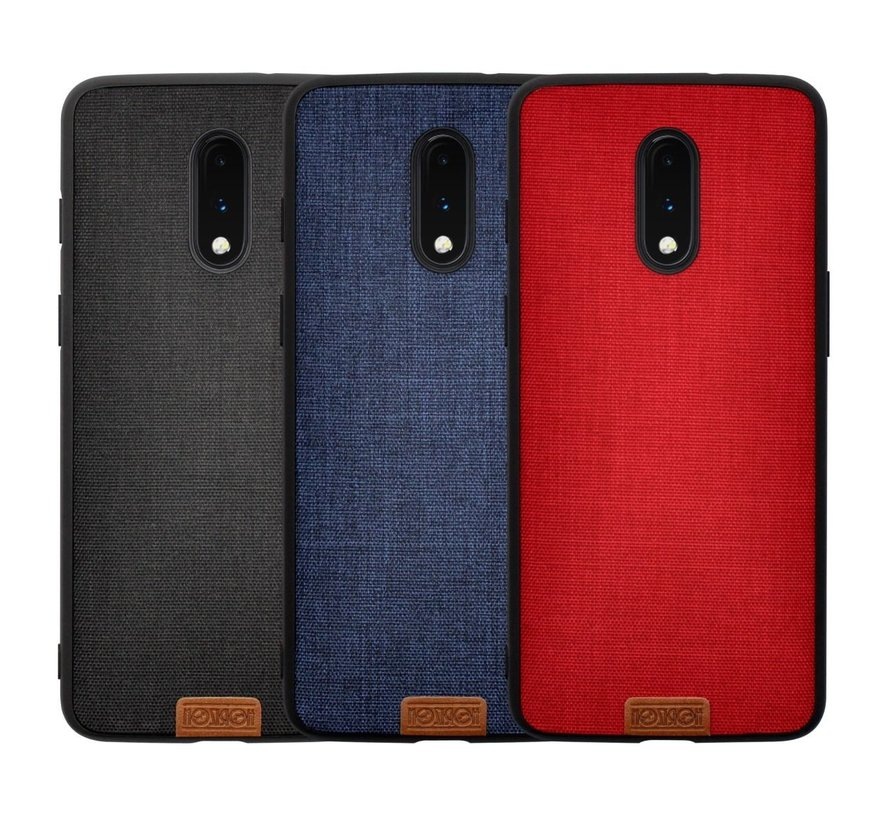 OnePlus 7 Fabric Red Case