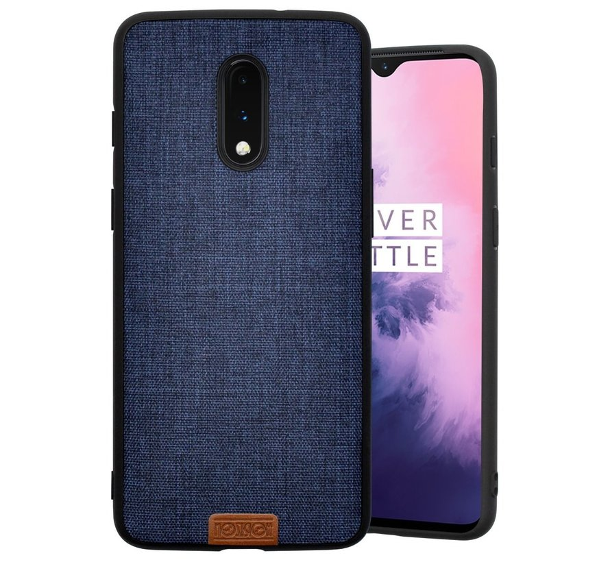 OnePlus 7 Case Fabric Blue