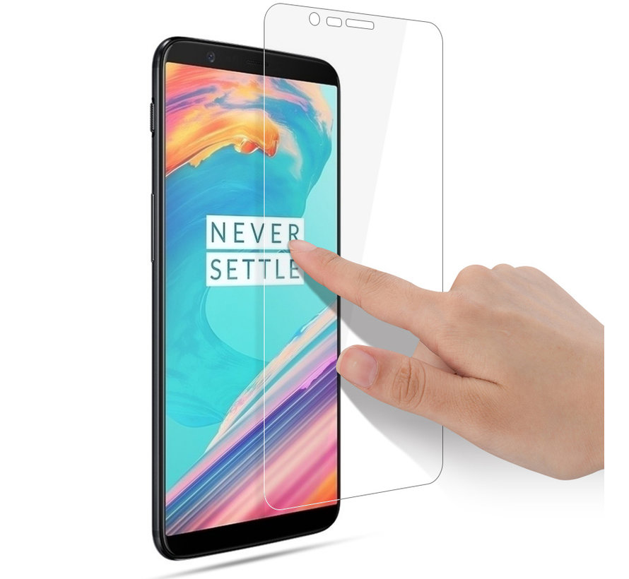 OnePlus 5T Screen Protector 2.5D Tempered Glass
