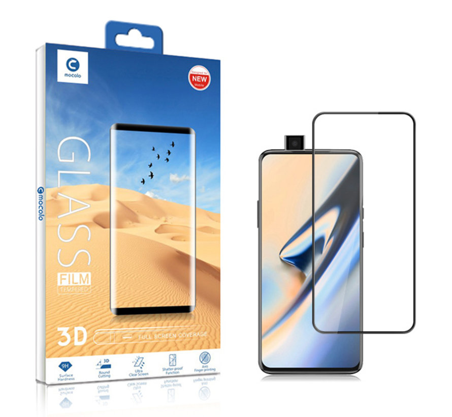 OnePlus 7 Pro Screen Protector 3D Tempered Glass