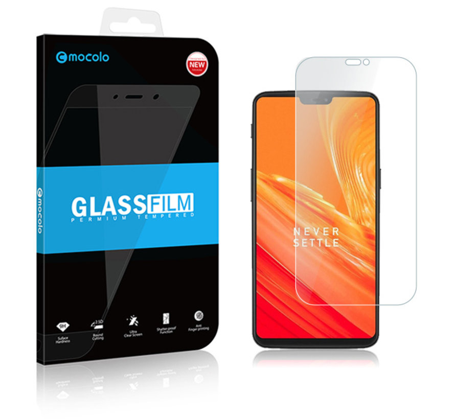 OnePlus 6 Screen Protector 2.5D Tempered Glass