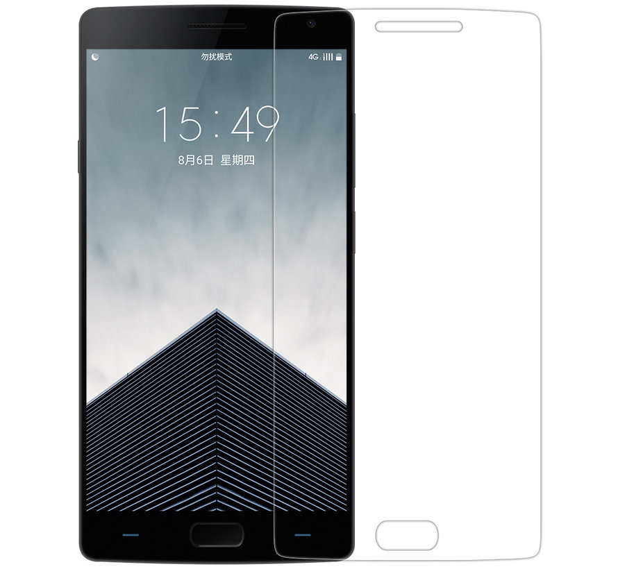 OnePlus 2 Displayschutzfolie 2.5D aus gehärtetem Glas