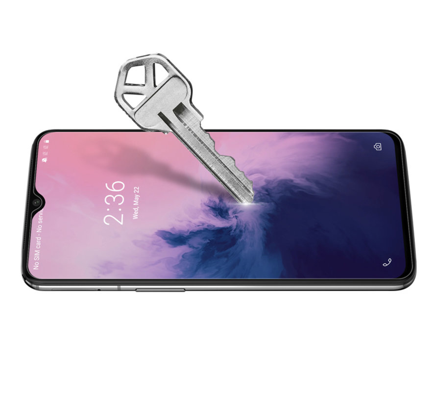 OnePlus 6T / 7 Screen Protector 2.5D Tempered Glass