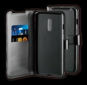 BeHello OnePlus 7 Gel Wallet Case Schwarz