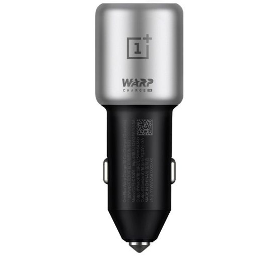 Warp Charge 30 Car Charger + USB C Cable