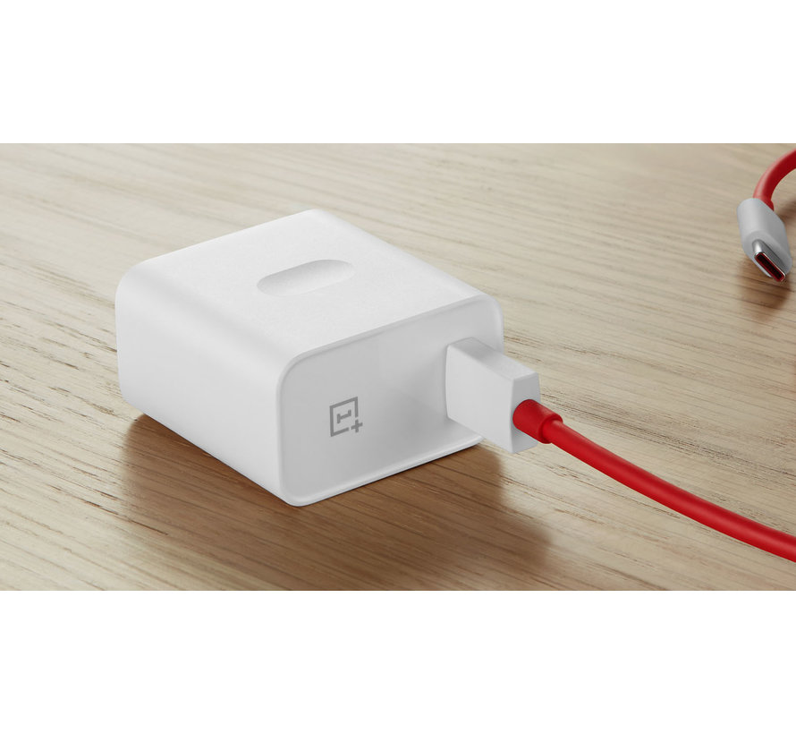 USB Travel Charger Warp Charge 30 Power Adapter (EU) White