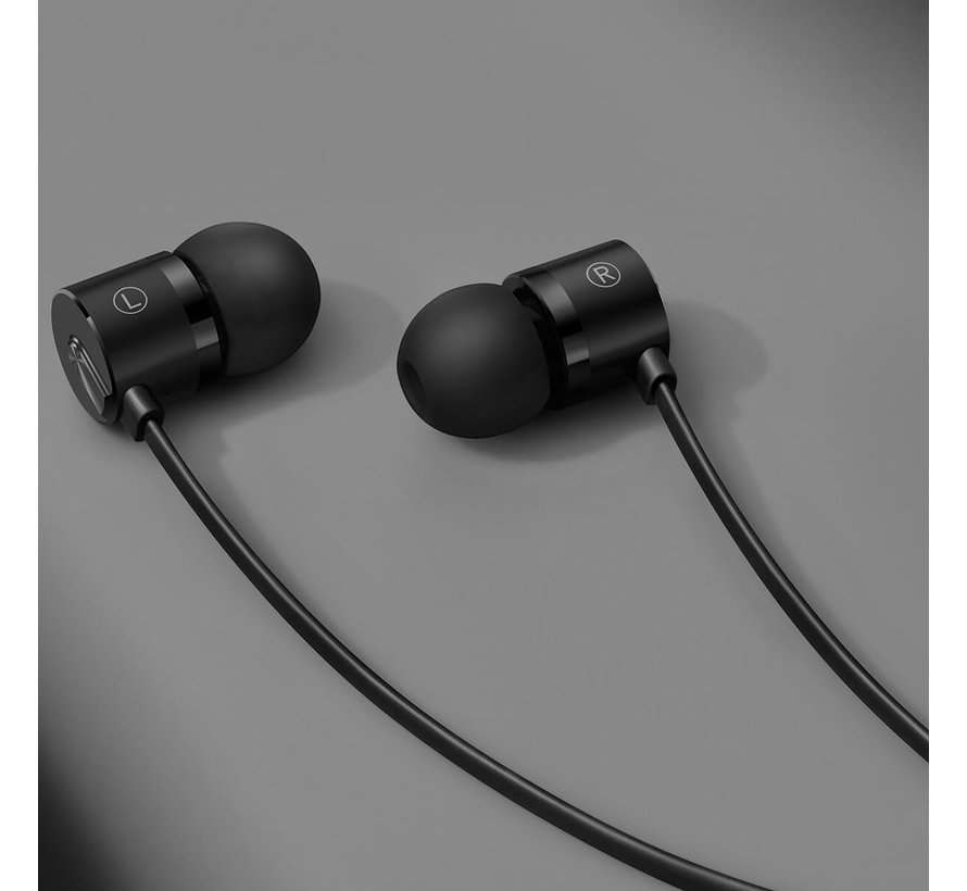 In-Ear Headphones Bullets USB-C Black