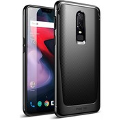 Poetic OnePlus 6 Case Karbon Shield Black