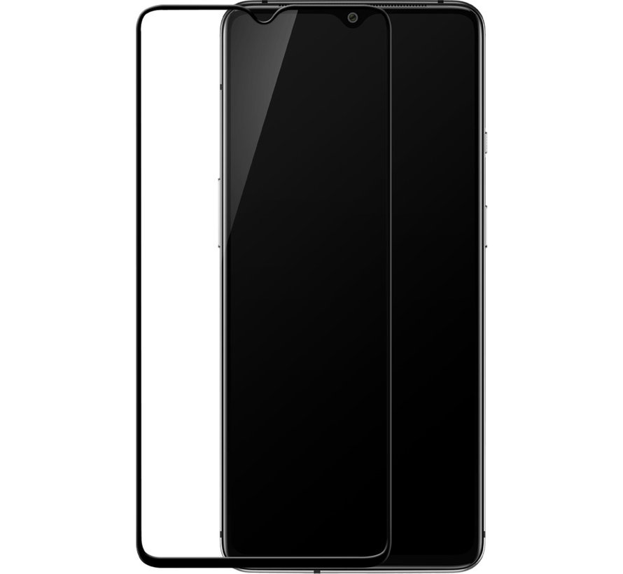7T 3D Tempered Glass Screen Protector Black